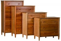Woodforms Shaker Collection of Dressers and Chests