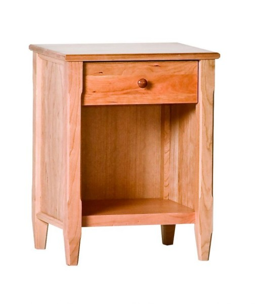 Woodforms woodforms cherry shaker nightstands richard for Shaker furniture